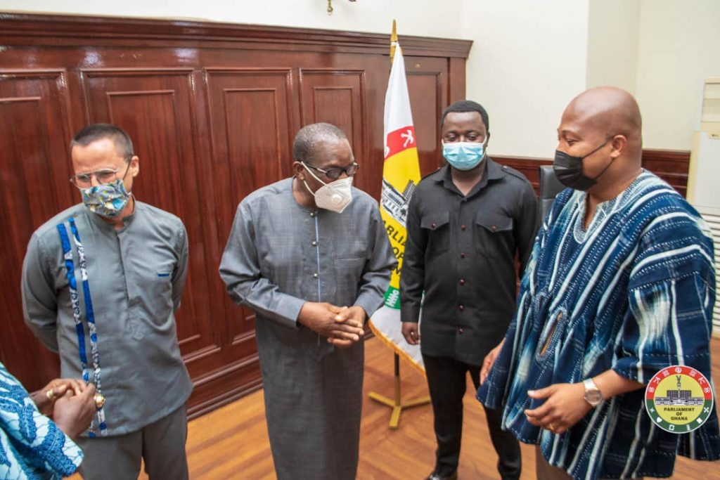 """""""We Will Pass Laws That Will Protect Ghana's Values and Principles"""" – Bagbin to Australian High Commissioner"""