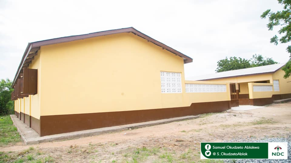 Hon. Okudzeto Ablakwa Donates Infant Incubator, Hand Over New 6-Unit Primary School to His Constituency