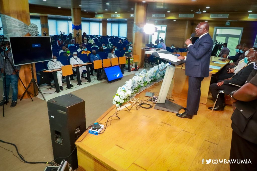 Vice President Bawumia launches NPA National Retail Outlet Fuel Monitoring System