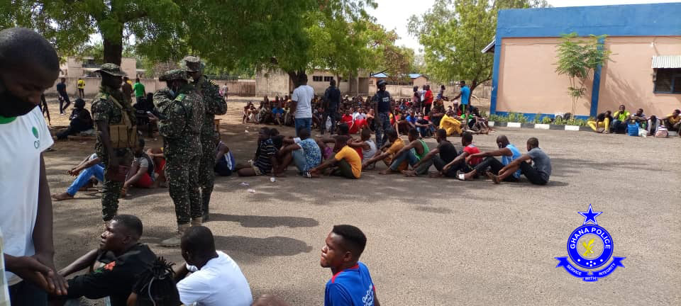 Ghana Deports 507 Arrested Illegal Immigrants