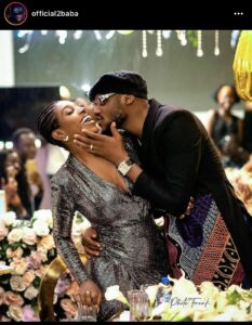 Tuface shared a love-up photo of him and his wife.