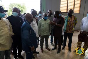 President Akufo-Addo Commissions Gh¢6.07 Million Hohoe Technology Solution Centre