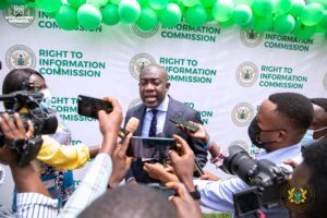 Right to Information Commission Headquarters Inaugurated in Accra